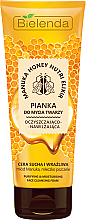 Fragrances, Perfumes, Cosmetics Cleansing Moisturizing Face Foam - Bielenda Manuka Honey Nutri Elixir Facial Foam