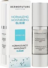 Fragrances, Perfumes, Cosmetics Normalizing Moisturizing Elixir - DermoFuture Normalizing Moisturizing Elixir
