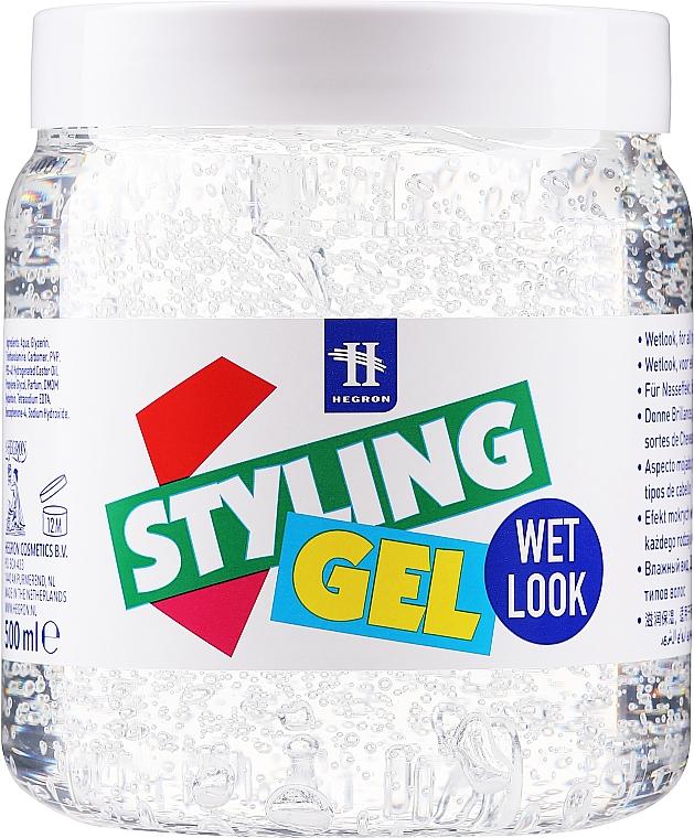 """Styling Hair Gel """"Wet Effect"""" - Hegron Styling Gel Wet Look"""