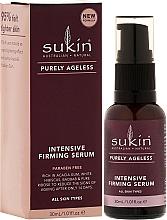 Fragrances, Perfumes, Cosmetics Strengthening Face Serum - Sukin Purely Ageless Firming Serum