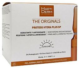 Fragrances, Perfumes, Cosmetics Sun Ampoule for Face - MartiDerm The Originals Proteos Hydra Plus SP