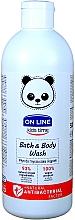 Fragrances, Perfumes, Cosmetics Anti-Bacterial Bath Foam and Shower Gel - On Line Kids Time Bath & Body Wash Antibacterial
