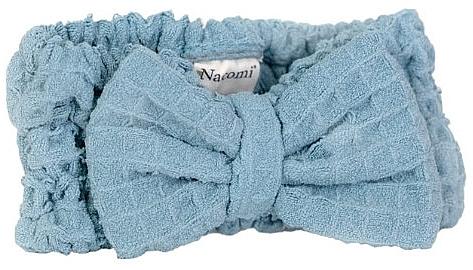 Microfiber Headband, dark blue - Nacomi — photo N1