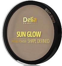 Fragrances, Perfumes, Cosmetics Pressed Compact Powder - Delia Shape Defined Sun Glow