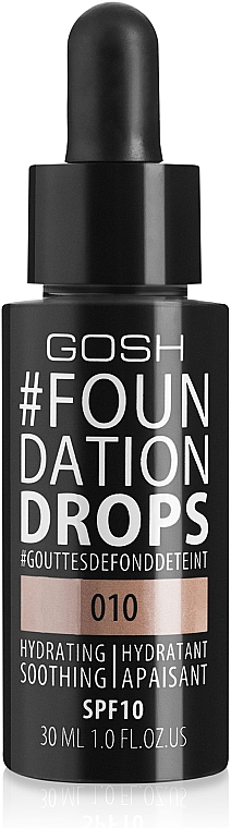 Foundation - Gosh Foundation Drops SPF10