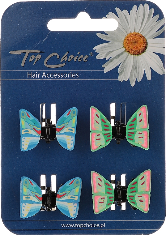 Hair Claws 4 pcs, 24764 - Top Choice — photo N1