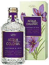 Fragrances, Perfumes, Cosmetics Maurer & Wirtz 4711 Acqua Colonia Saffron & Iris - Eau de Cologne