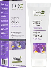 Fragrances, Perfumes, Cosmetics Mattifying Face Cream for Oily and Combination Skin - ECO Laboratorie
