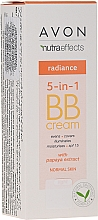 Fragrances, Perfumes, Cosmetics 5-in-1 Tone-Up BB Cream with Papaya Extract - Avon Nutra Effects Radiance BB Cream With Papaya Extract SPF 15