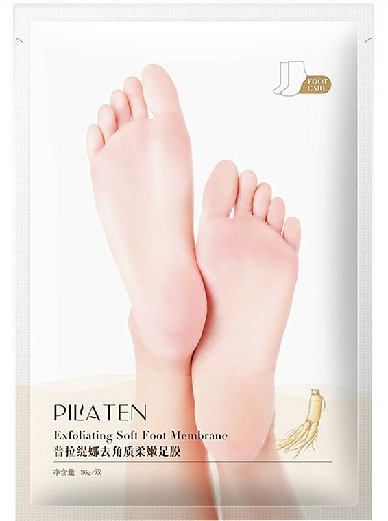 Exfoliating Foot Mask - Pilaten Exfoliating Soft Foot