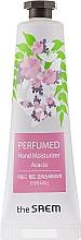 "Fragrances, Perfumes, Cosmetics Perfumed Moisturizing Hand Cream ""Acacia"" - The Saem Perfumed Acacia Hand Moisturizer"