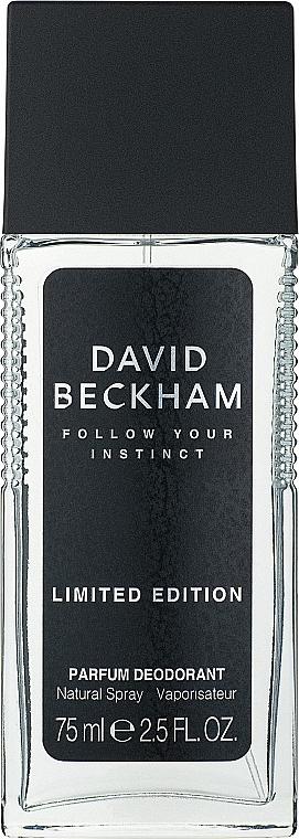 David Beckham Follow Your Instinct - Perfumed Deodorant