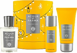 Fragrances, Perfumes, Cosmetics Acqua Di Parma Colonia Pura - Set (edc/100ml + sh/gel/75ml + deo/50ml)
