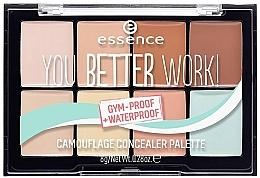 Fragrances, Perfumes, Cosmetics Concealer Palette - Essence You Better Work! Camouflage Concealer Palette
