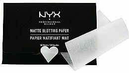 "Fragrances, Perfumes, Cosmetics Facial Wipes ""Matte Blotting"" - NYX Professional Makeup Blotting Paper"
