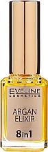 Fragrances, Perfumes, Cosmetics 8-in-1 Argan Cuticle Oil - Eveline Cosmetics Argan Elixir
