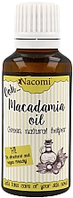 Fragrances, Perfumes, Cosmetics Macadamia Oil - Nacomi