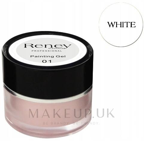 Nail Art Gel - Reney Cosmetics Painting Gel — photo 01 - White