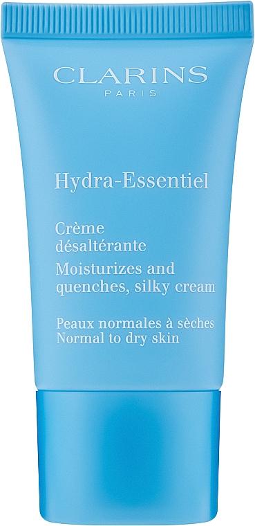 Normal and Dry Skin Moisturizing Cream - Clarins Hydra-Essentiel Normal to Dry Skin Cream