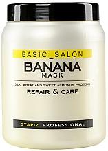 Fragrances, Perfumes, Cosmetics Damaged Hair Mask - Stapiz Basic Salon Banana Mask
