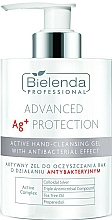 Fragrances, Perfumes, Cosmetics Antibacterial Active Cleansing Hand Gel - Bielenda Professional Advanced Ag+ Protection