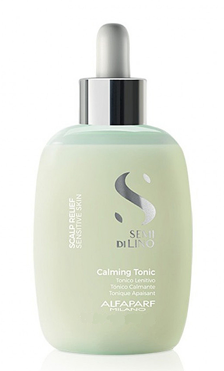 Soothing Scalp Lotion - Alfaparf Semi Di Lino Scalp Relief Calming Tonic