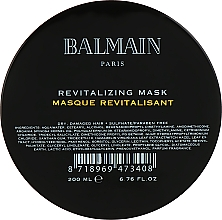Fragrances, Perfumes, Cosmetics Repair Nourishing Hair Mask - Balmain Paris Hair Couture Revitalizing Mask