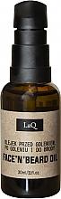 Fragrances, Perfumes, Cosmetics Beard & After Shave Oil - LaQ Face'n'Beard Oil