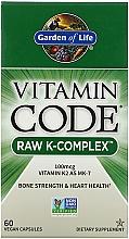 Fragrances, Perfumes, Cosmetics Food Supplement - Garden of Life Vitamin Code Raw K-Complex