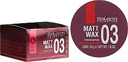 Fragrances, Perfumes, Cosmetics Styling Matte Wax - Salerm Matt Wax