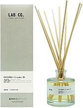 Fragrances, Perfumes, Cosmetics Reed Diffuser - Ambientair Lab Co. Patchouli & Cedar