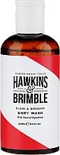 Fragrances, Perfumes, Cosmetics Shower Gel - Hawkins & Brimble Elemi & Ginseng Body Wash