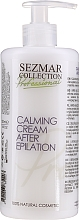 Fragrances, Perfumes, Cosmetics Soothing After Hair Removal Cream - Sezmar Collection Professional Calming Cream After Epilation