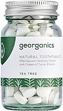 """Fragrances, Perfumes, Cosmetics Tooth Cleansing Tablets """"Tea Tree"""" - Georganics Natural Toothtablets Tea Tree"""