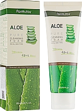 Fragrances, Perfumes, Cosmetics Cleansing Aloe Foam - FarmStay Pure Cleansing Foam Aloe