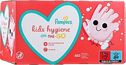 Fragrances, Perfumes, Cosmetics Baby Wet Wipes, 12x40 pcs - Pampers Kids On The Go