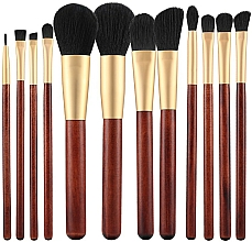 Fragrances, Perfumes, Cosmetics Makeup Brush Set, 12 pcs - Tools For Beauty