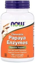"Fragrances, Perfumes, Cosmetics Capsules ""Papaya Enzymes"" - Now Foods Chewable Papaya Enzymes"