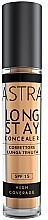Fragrances, Perfumes, Cosmetics Long-Lasting Creamy Concealer - Astra Make-Up Long Stay Concealer SPF15