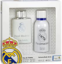 Fragrances, Perfumes, Cosmetics Air-Val International FC Real Madrid - Set (edt/100ml + deo/spray/150ml)