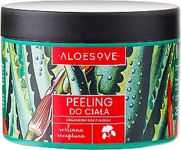 Fragrances, Perfumes, Cosmetics Body Peeling with Organic Aloe Juice - Aloesove