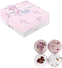 Fragrances, Perfumes, Cosmetics Fizzy Bath Bomb Set - Chantilly Soft Rose
