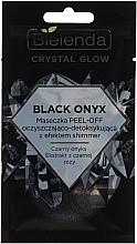 Fragrances, Perfumes, Cosmetics Cleansing Detox Face Mask - Bielenda Crystal Glow Black Onyx Peel-off Mask