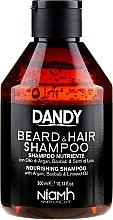 Fragrances, Perfumes, Cosmetics Hair and Beard Shampoo - Niamh Hairconcept Dandy Beard & Hair Shampoo