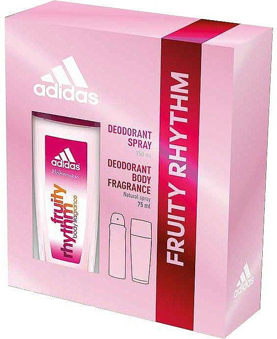 Adidas Fruity Rhythm - Set (deo/spray/75ml + deo/150ml)
