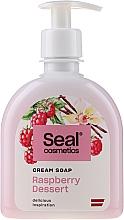 "Fragrances, Perfumes, Cosmetics Cream-Soap ""Raspberry Dessert"" - Seal Cosmetics Cream Soap"