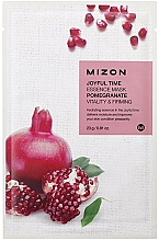 Fragrances, Perfumes, Cosmetics Pomegranate Face Sheet Mask - Mizon Joyful Time Essence Mask Pomegranate