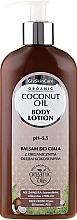 Fragrances, Perfumes, Cosmetics Body Lotion with Organic Coconut Oil - GlySkinCare Coconut Oil Body Lotion