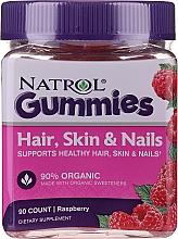 "Fragrances, Perfumes, Cosmetics Hair, Skin & Nail Gummies ""Raspberry"" - Natrol Hair, Skin & Nail Gummies Raspberry"