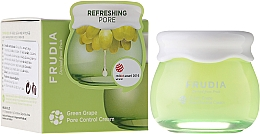 Fragrances, Perfumes, Cosmetics Sebum-Regulating Face Cream - Frudia Pore Control Green Grape Cream